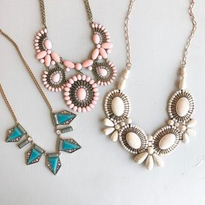 Jewelry - Bundle of 3 Summer Necklaces